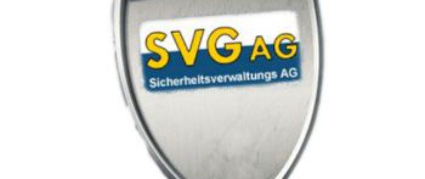 Sicherung der Halle durch SVG