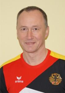 Sergej Jeriomkin bei den Sportakrobaten