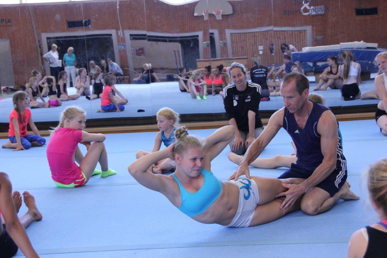 Ehemaliger Bundestrainer der Kunstturner im Sportakrobatik-Stützpunkt