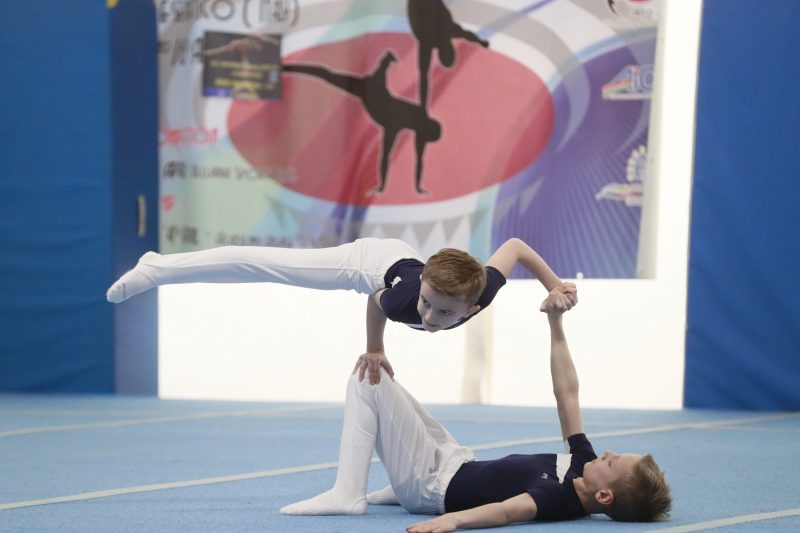 Internationaler Acro-Cup in Cesenatico/Italien