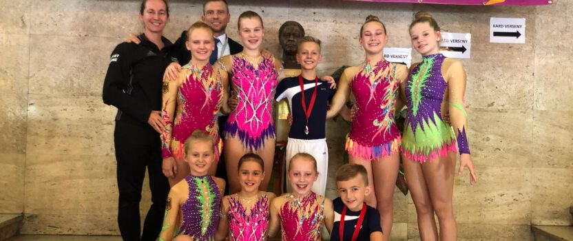 2nd Internationaler Acro-Cup in Budapest